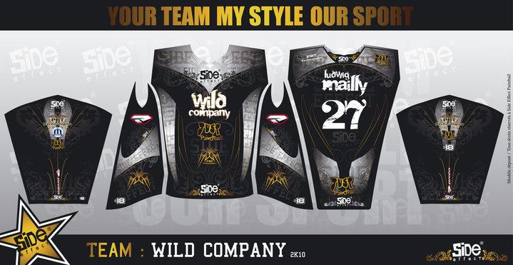 Jersey team partenaires Wildco10