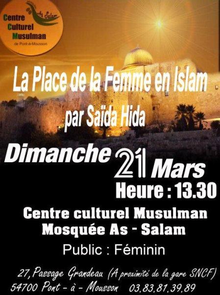 Place de la Femme en Islam [Conférence] Conf1_10