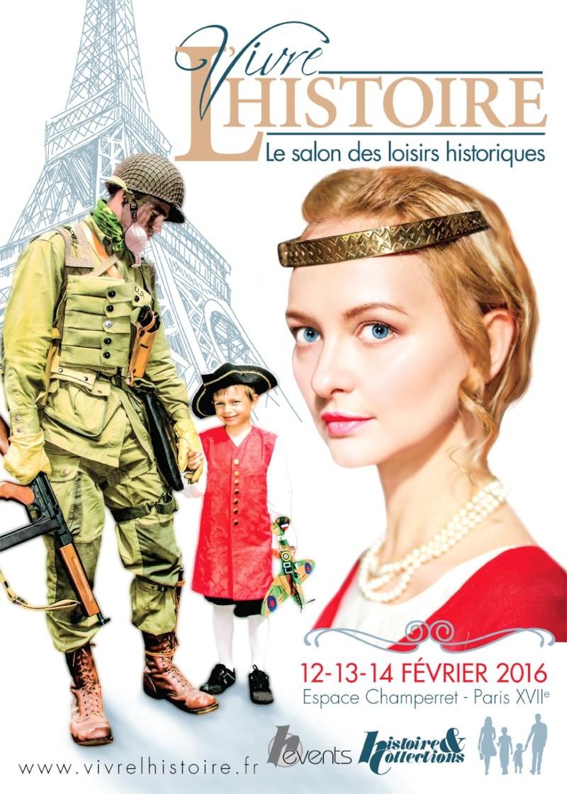Le salon vivre l'histoire à Paris les 12-13-14 février Affich10