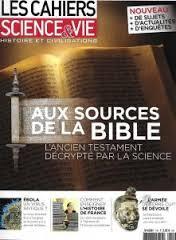 Les cahiers de Science & vie, Histoire et civilisation Bible_10