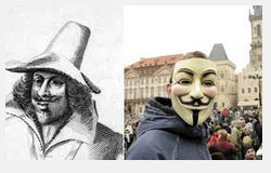 From Guy Fawkes to anonymous Tempo316