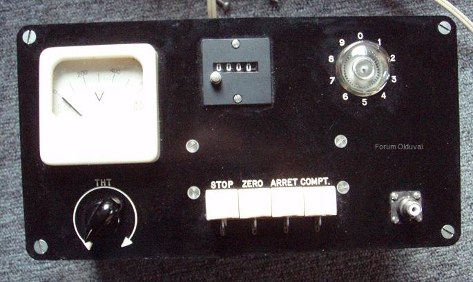 Un projet de compteur geiger à transistors Face10