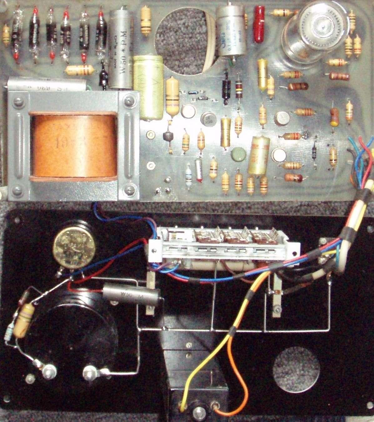 Un projet de compteur geiger à transistors Interi10