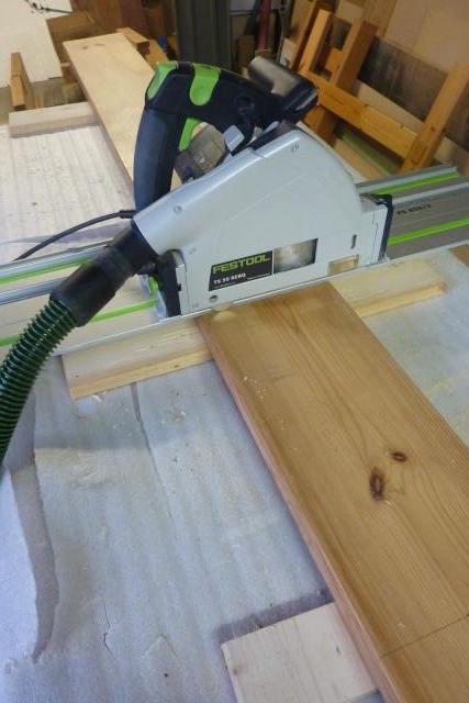 Table basse en bois de récup' Tronyo10