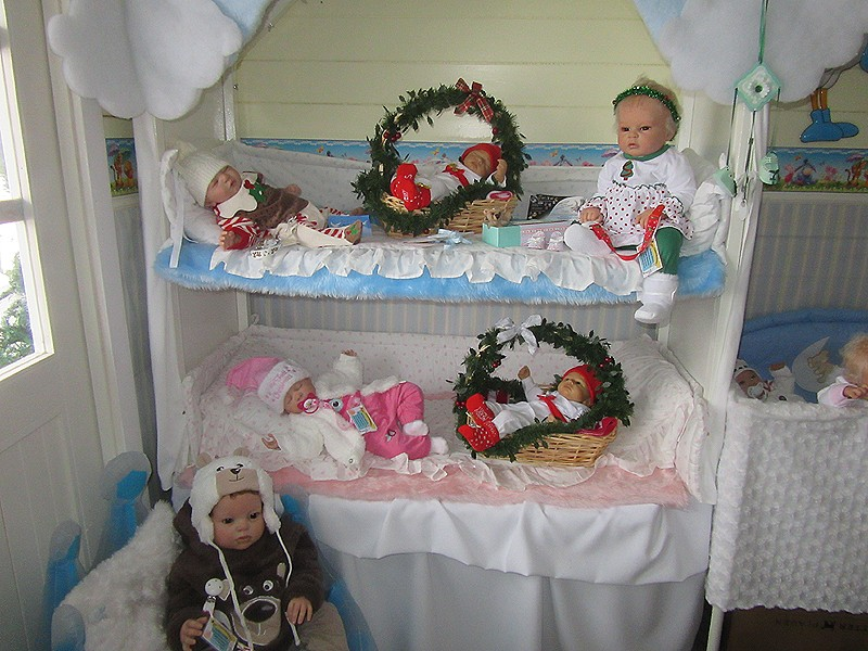 Es weihnachtet im Puppenhaus..... 2010