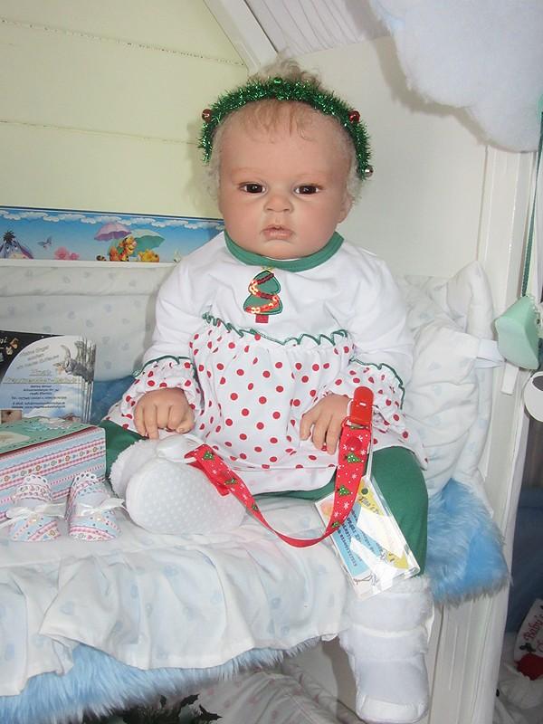Es weihnachtet im Puppenhaus..... 2310