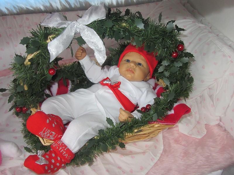 Es weihnachtet im Puppenhaus..... 3010