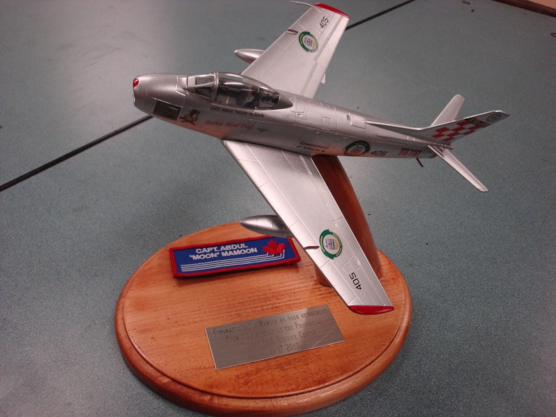 RCAF Presentation models Dsc09510