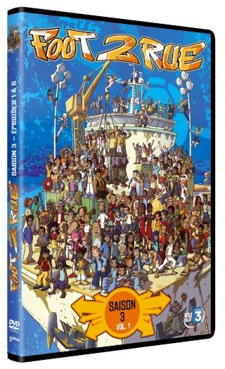 Le volume 1 de la saison 3 en DVD le 7 avril ! Foot2r12