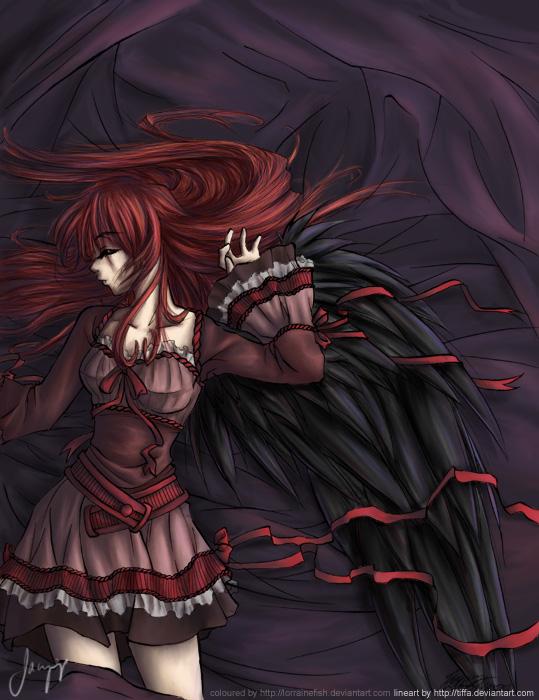 Perséphonè, Déesse de la Mort et des Enfers (à valider) Angel_10
