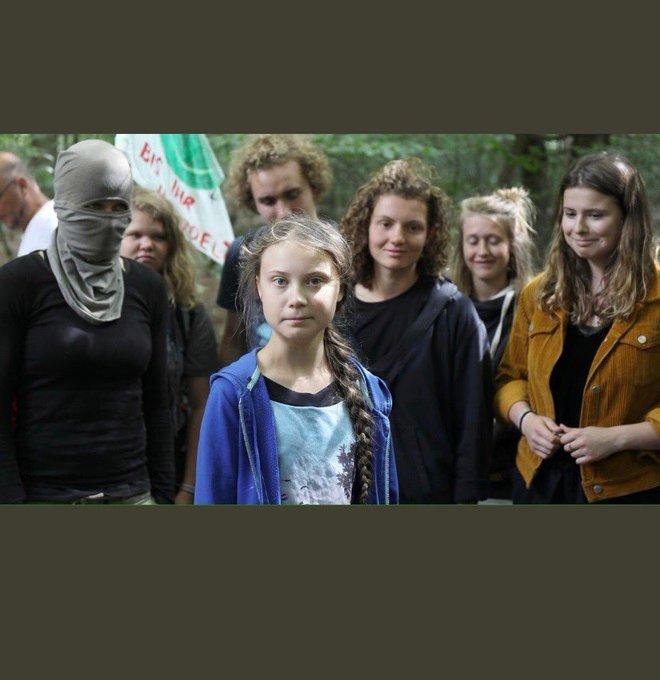 HHype in USA nicht angekommen: Nur wenige schließen sich Gretas Klimastreik an Ebtg-i10