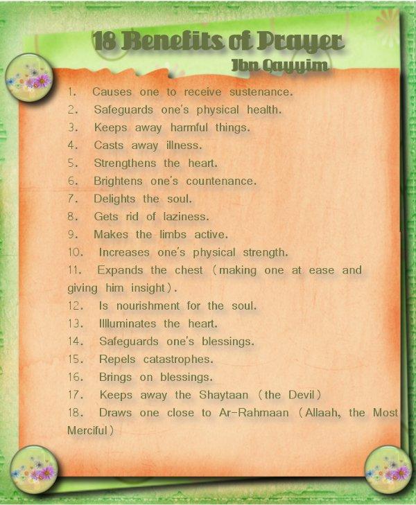 18 Benefits of Prayer 18bene13