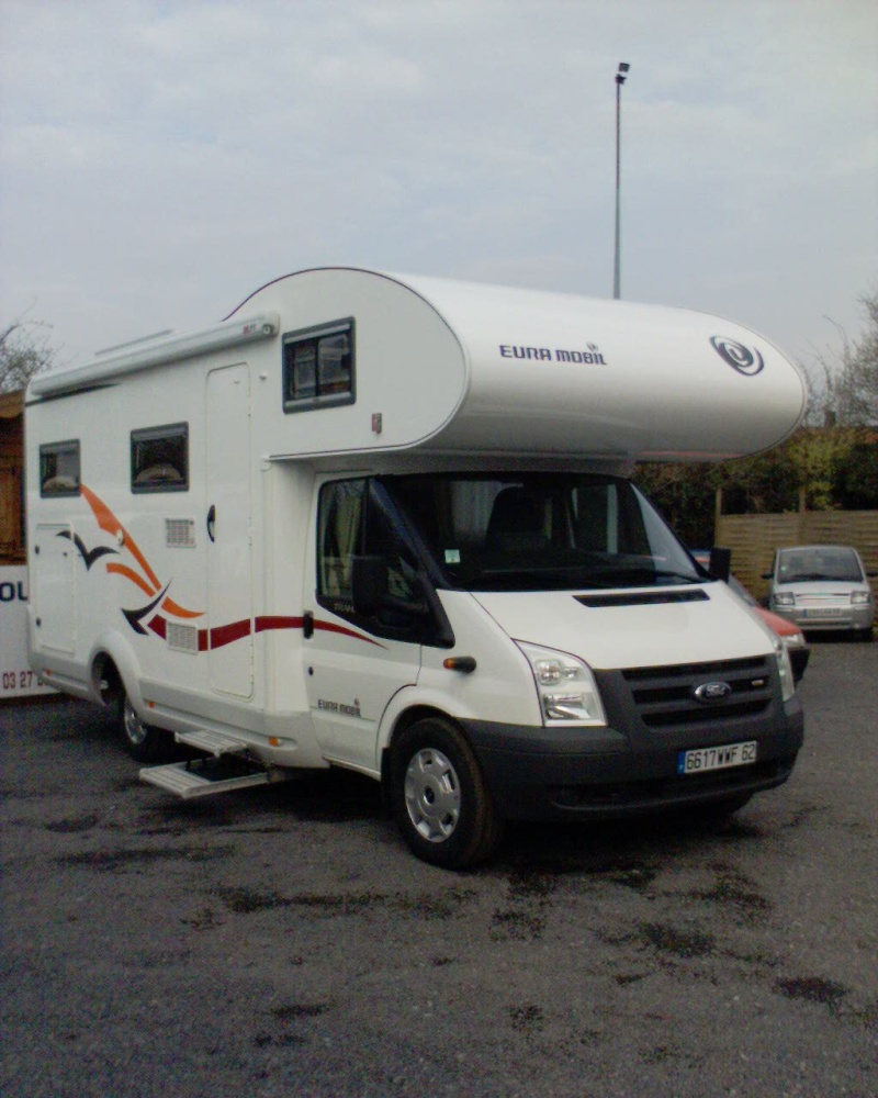 Vends Camping-car Eura Mobil Profila 660HB capucine.  VENDU Disque10