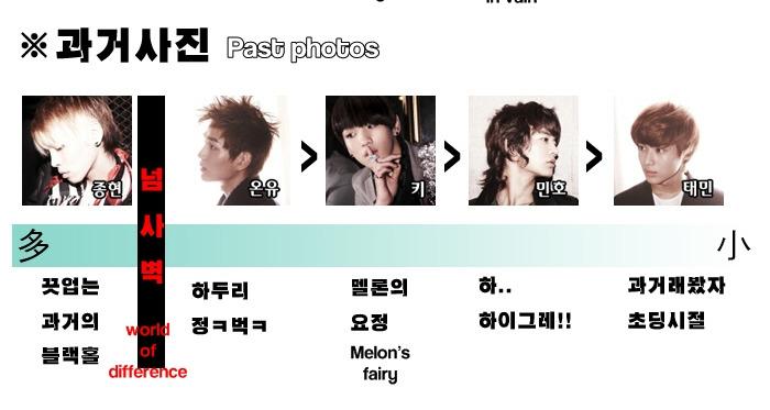 [Fanmade] Bảng xếp hạng từng thành viên trong SHINee 43720315