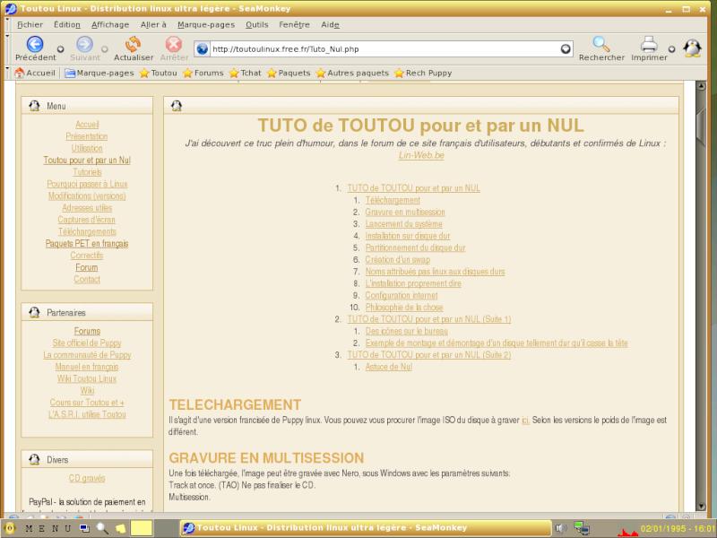ToutouLinux 4.31 Ttcap510