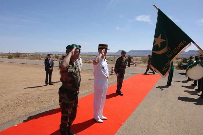 Armée Mauritanienne - Page 2 Visite10