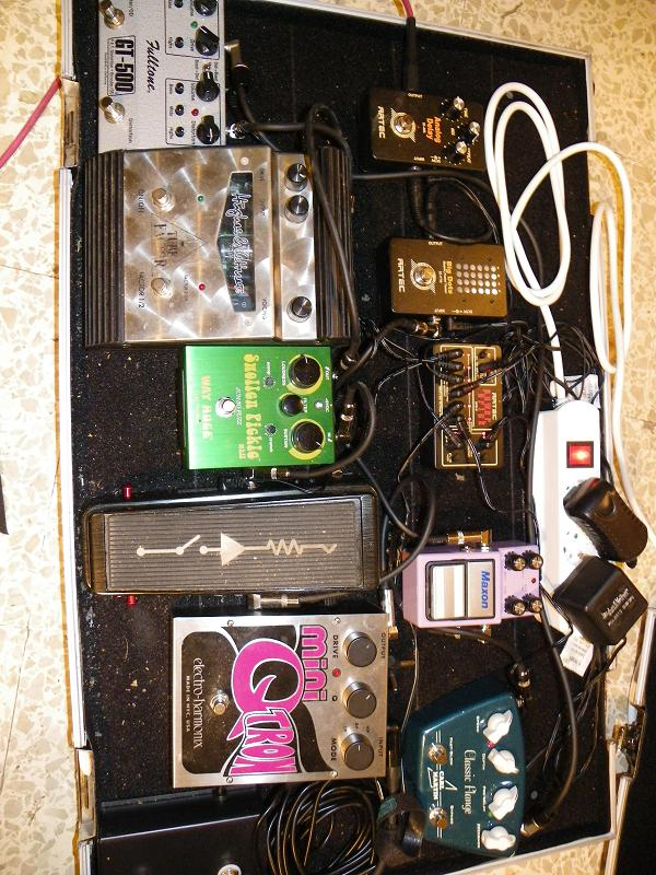 My pedalboard Pedale12