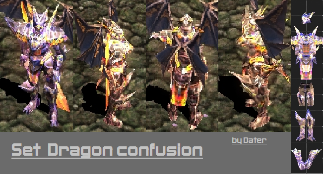 Set Dragon Confusion Dragon11