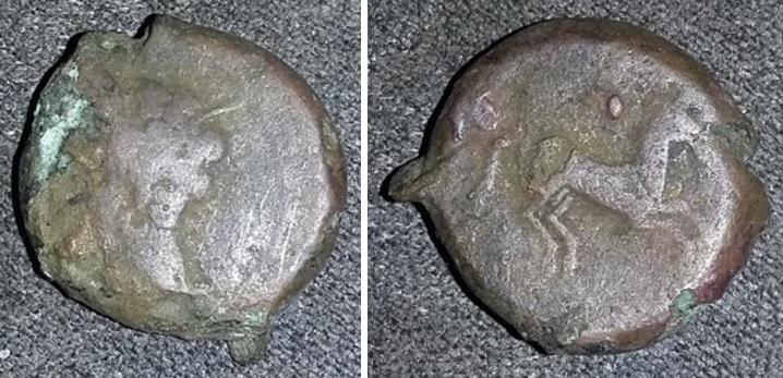 Bronze au cheval Bronze10