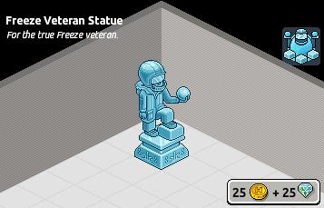 [ALL] Rara Statua Veterano del Freeze in Catalogo Scher161