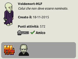 [IT] Evento Harry Potter - Lord Voldemort Scherm88