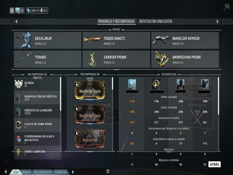 Build para Excalibur/Excalibur Prime Excada13