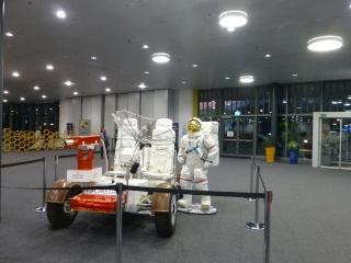 Buzz Aldrin et Alexeï Leonov à Lausanne le 13 novembre 2015. SwissApollo. 09310