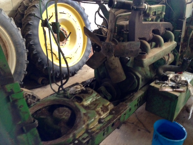 Restauration John Deere 4020 110