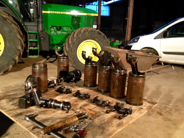 Restauration John Deere 4020 1410