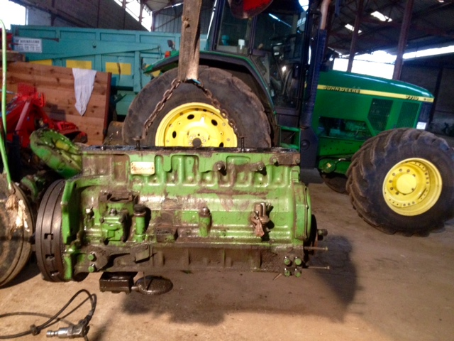 Restauration John Deere 4020 1510