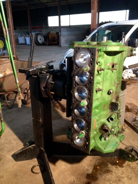Restauration John Deere 4020 1810