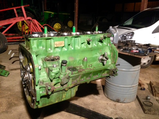 Restauration John Deere 4020 2010