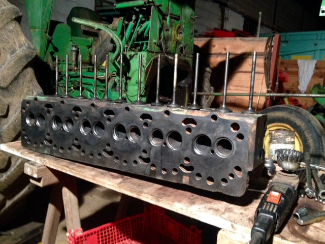 Restauration John Deere 4020 2210