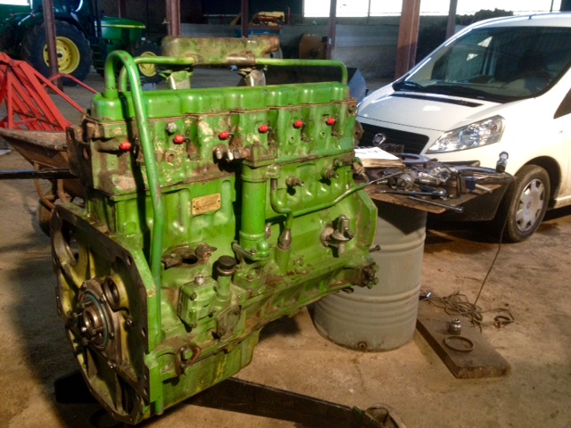 Restauration John Deere 4020 2310