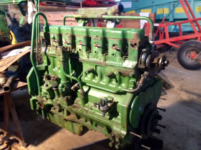 Restauration John Deere 4020 2410