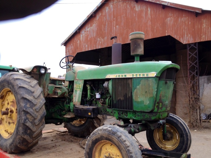 Restauration John Deere 4020 402010