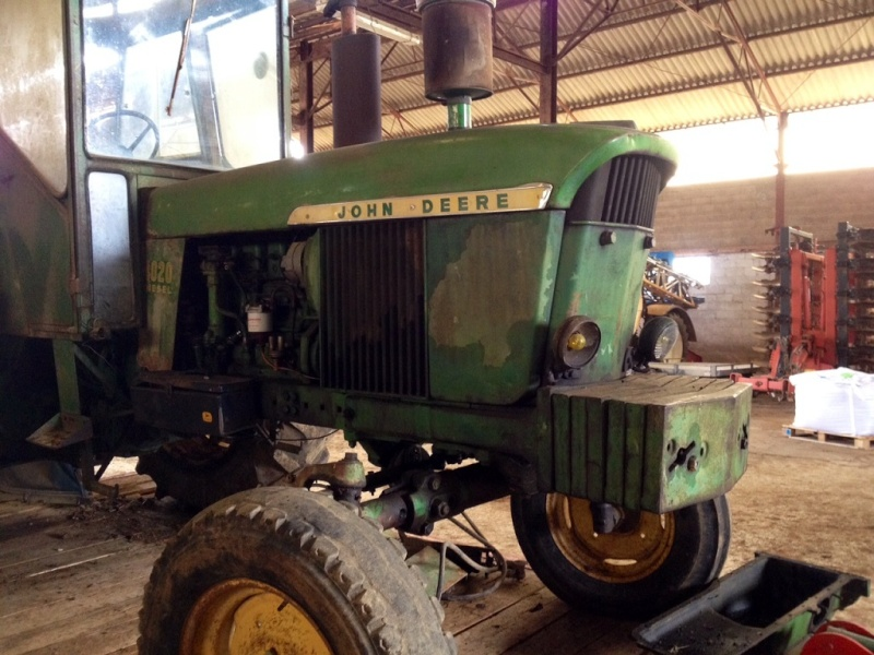 Restauration John Deere 4020 Photo_10