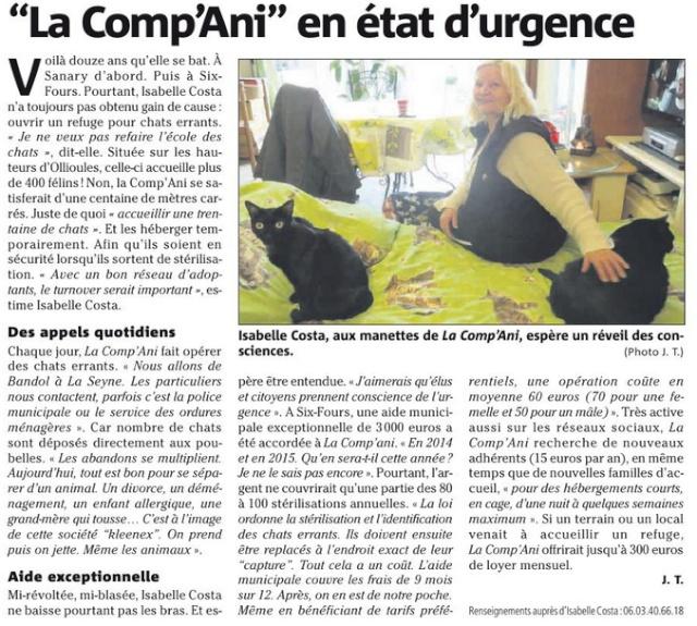 Article sur LA COMP'ANI en 2016 Lacomp10