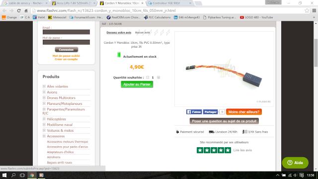 Controleur YGE 90LV Cable_10