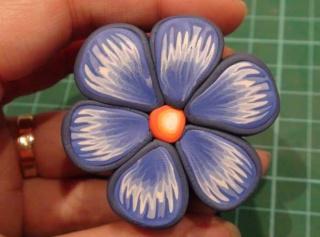 Murrina Flor azul Flor1310