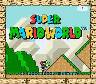 [SNES] Super Mario World > Kaizo Mario [SNES] Smwosn12