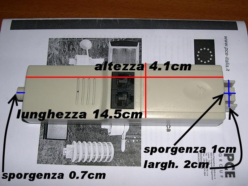 fws20 - Misure sensore termo-igrometrico PCE fws20 (foto) 1pce10