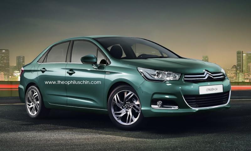 [SUJET OFFICIEL][CHINE/RUSSIE] Citroën C4L/C4 Sedan [B73] 55261010