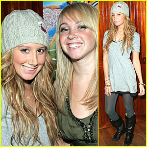 Ashley Tisdale at the screening of her sisters film - December 18 2007 Ashley10