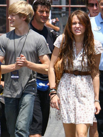 Miley and Lucas Till Miley_19