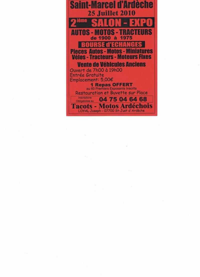 Bourse d'échange à Saint Marcel d'Adèche Ccf13010