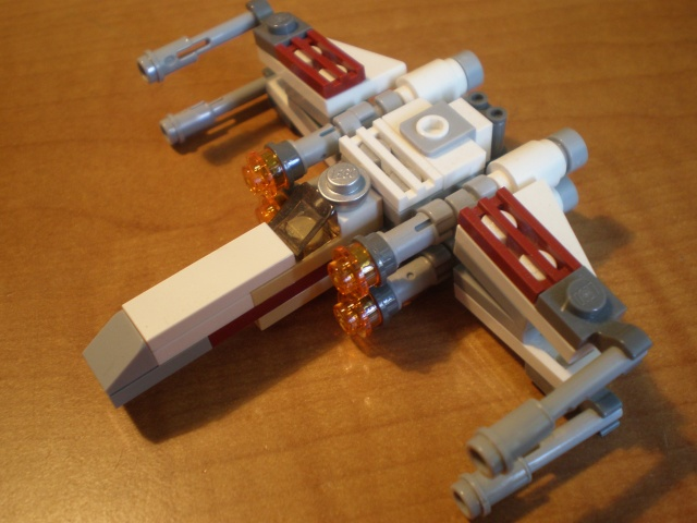 MINI Lego Star Wars X-wing Starfighter P6080211