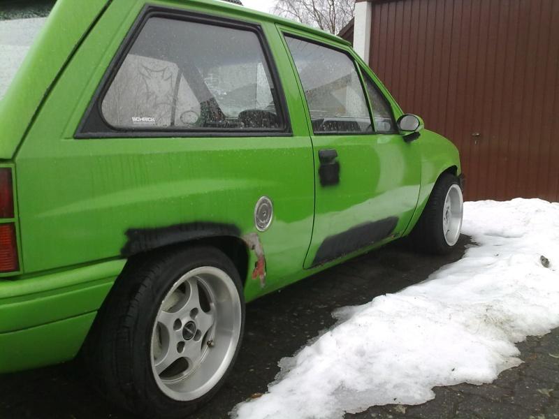 Unser Corsa Projekt ... 14032011