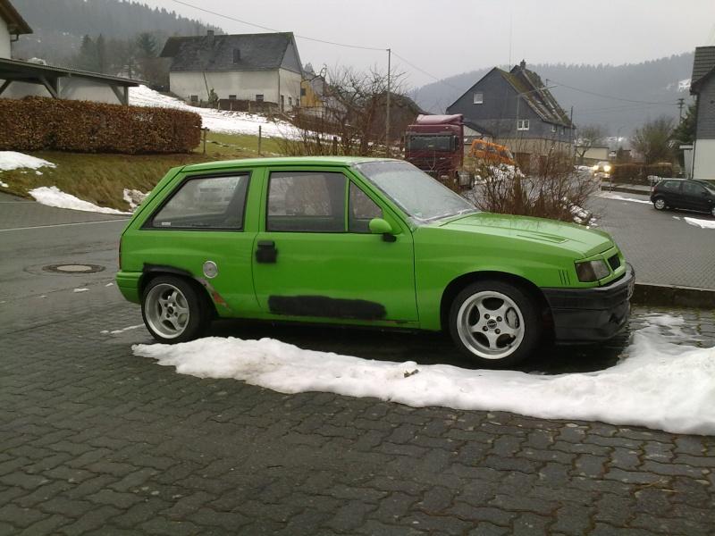 Unser Corsa Projekt ... 14032012