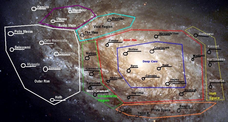 Galactic Map/Travel Galixy12